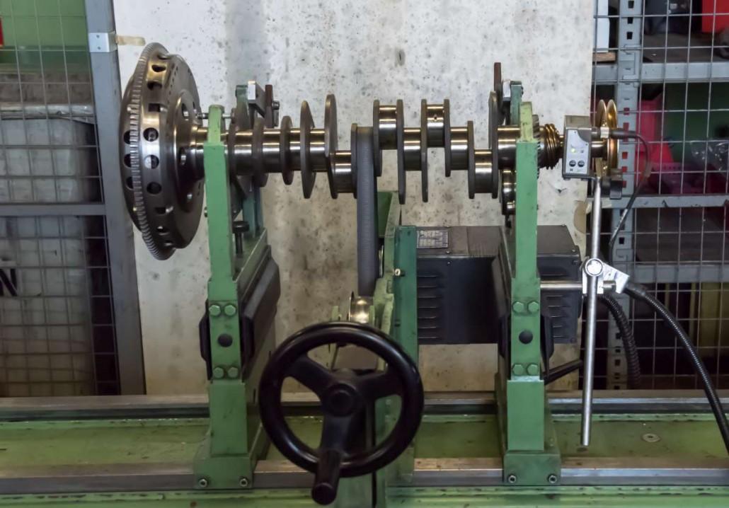 Révision d'arbres de transmission et équilibrage industriel