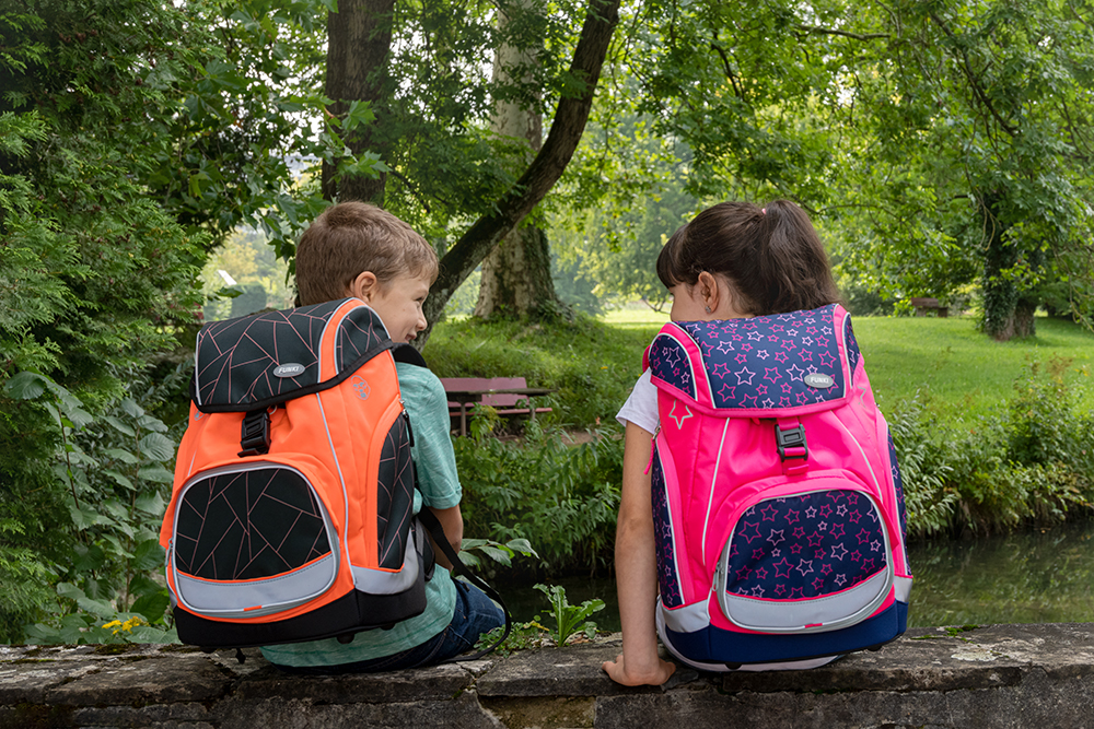 School backpacks, leather bags for business or leisure, luggage and accessories