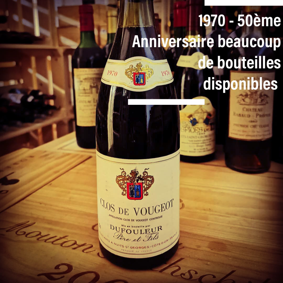 Great wines & old vintages