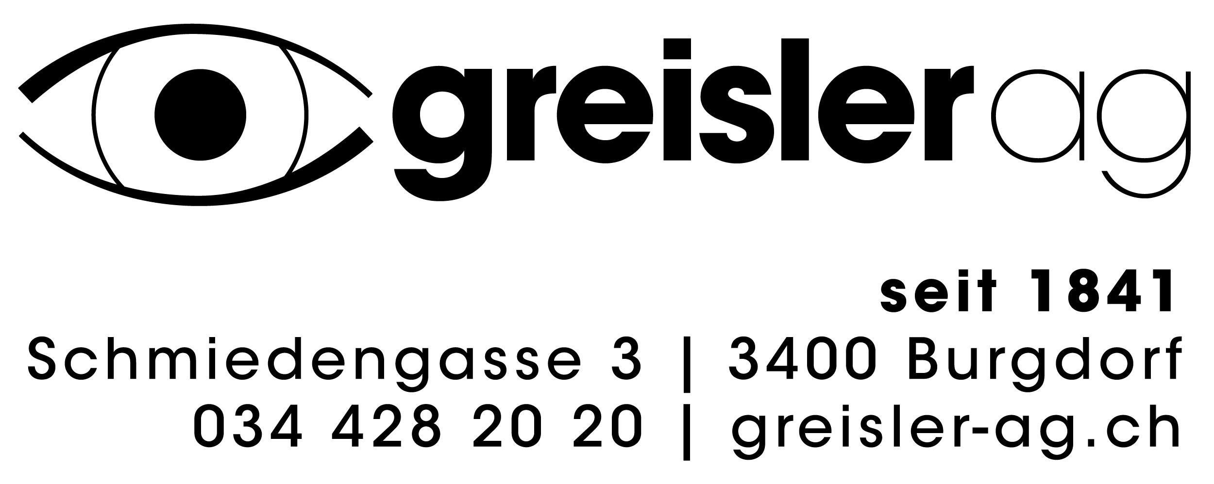 Augenoptik Greisler Ag, Brillen und Kontaktlinsen