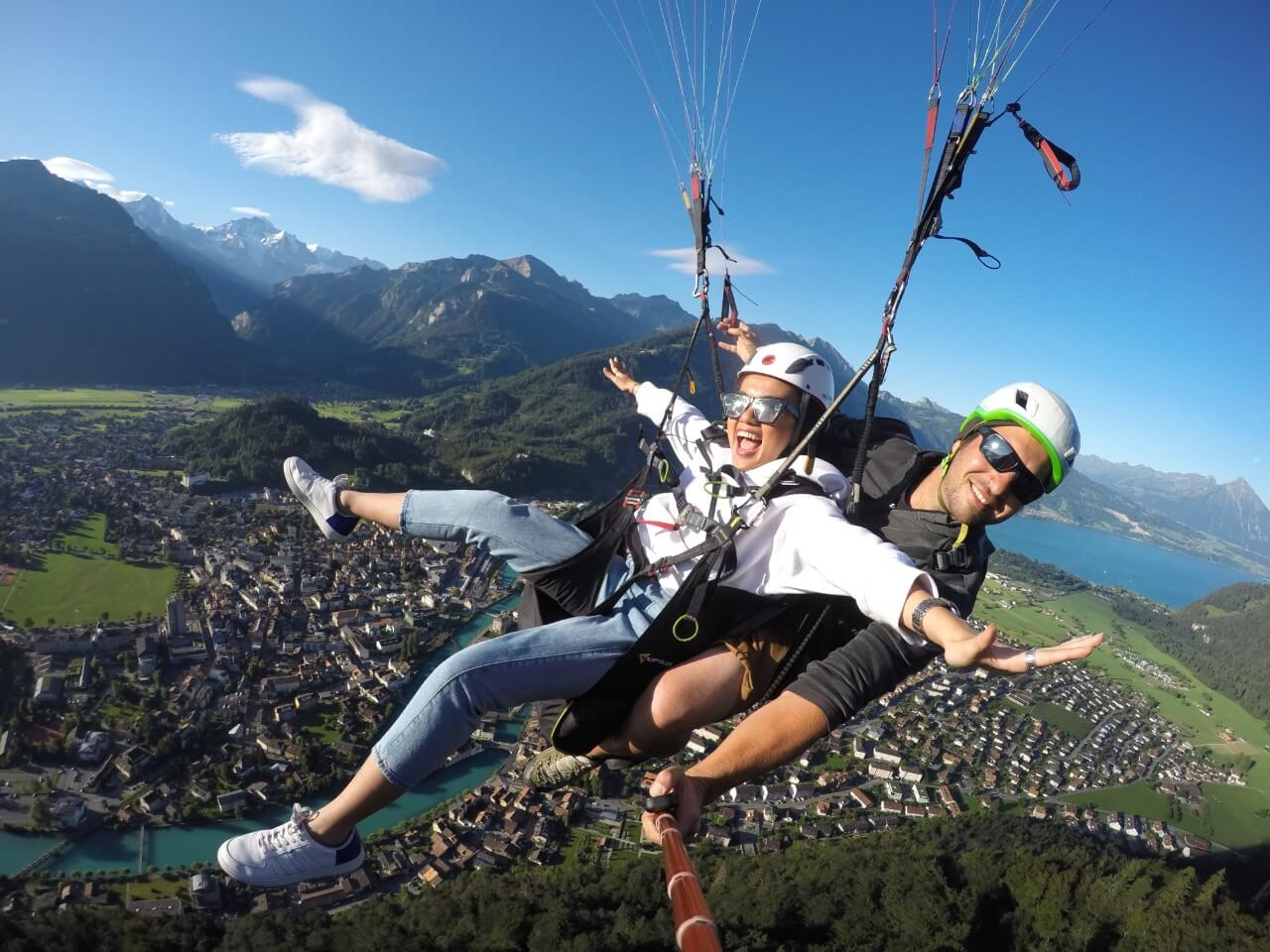Paragliding tandem flight | voucher with 10 % discount