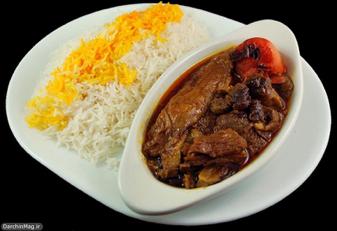 La nourriture persane est un rêve