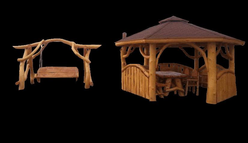 Garten- und Innenmöbel