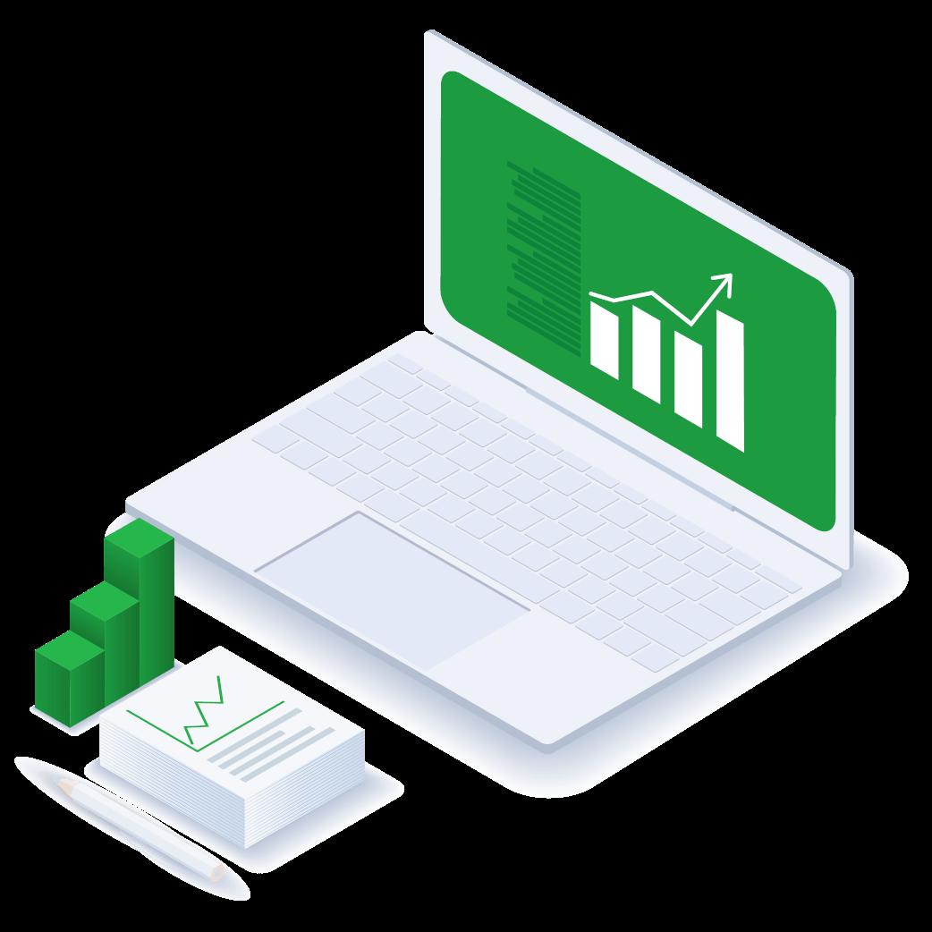 Business term loan dashboard