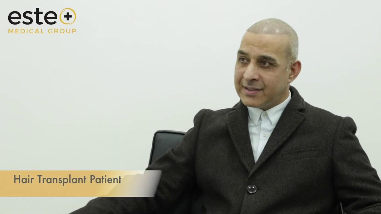 Hair transplant procedure UK