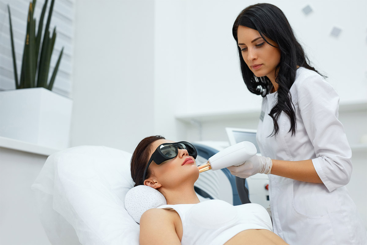 Laser hair removal for Face
