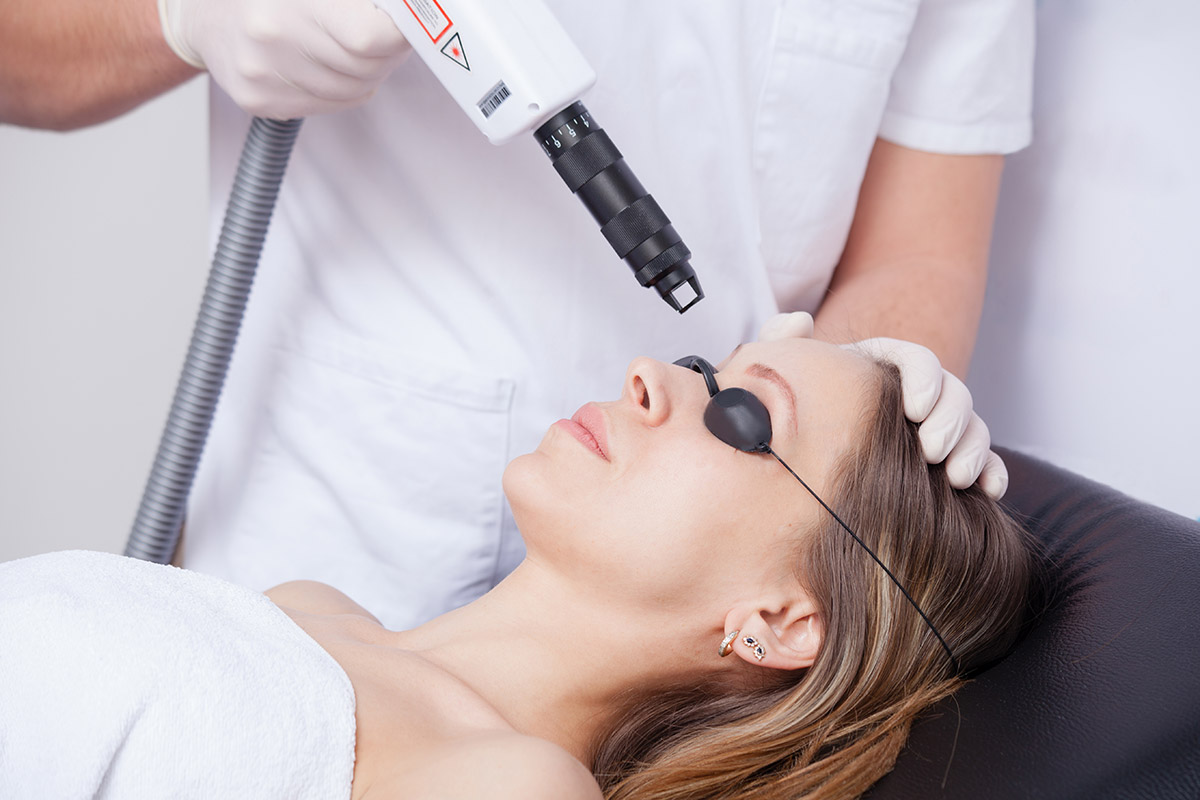 ClearSkin laser treatment