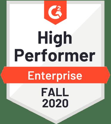 High Performer Enterprise 2020