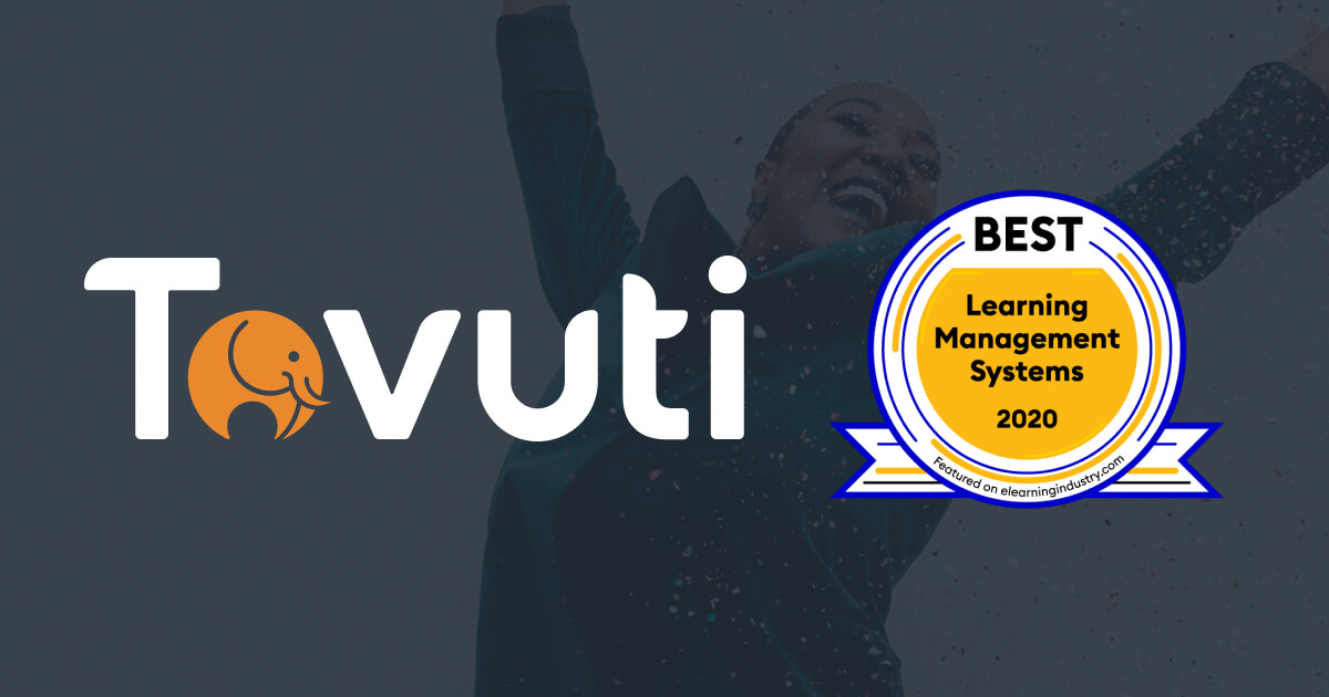 Tovuti Awarded Best LMS Award by eLearning