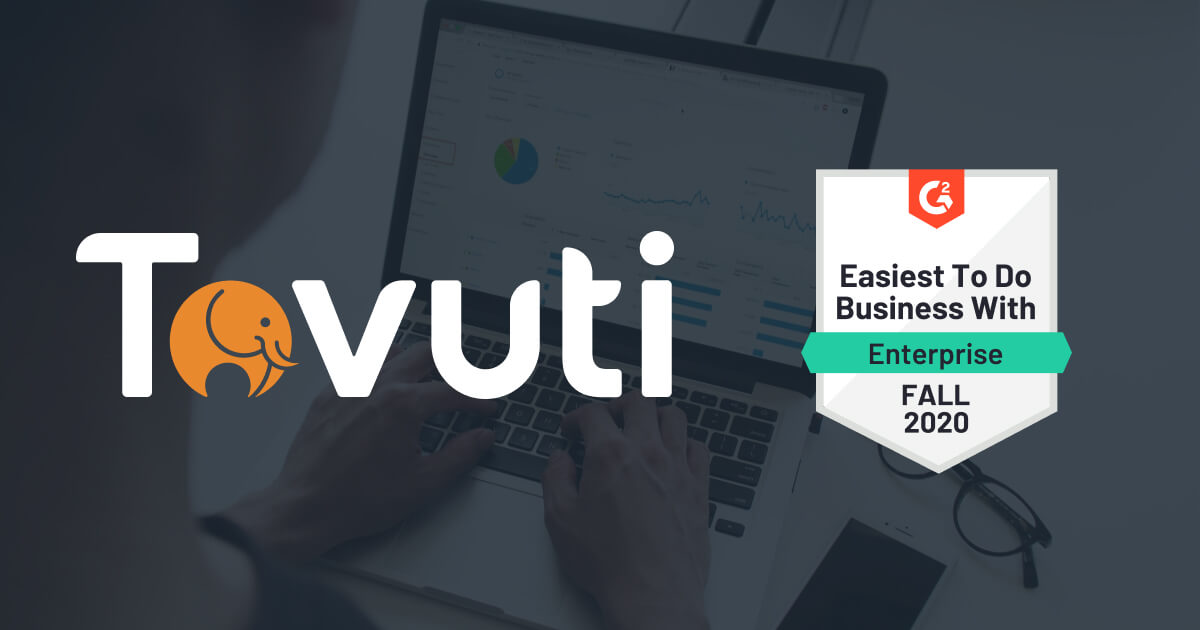 Tovuti Awarded Easiest To Do Business With by G2