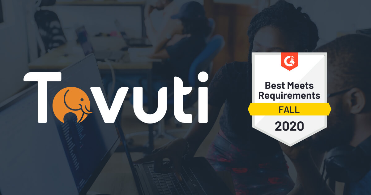 Tovuti Awarded Best Meets Requirements by G2