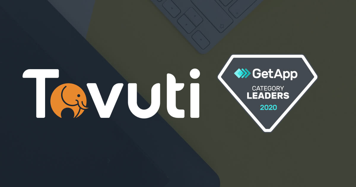Tovuti Awarded Category Leader for an LMS by GetApp