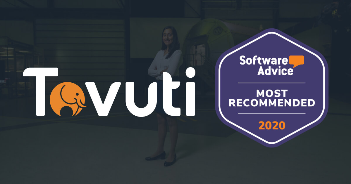 Tovuti Awarded Most Recommended Learning Management System (LMS) by Software Advice