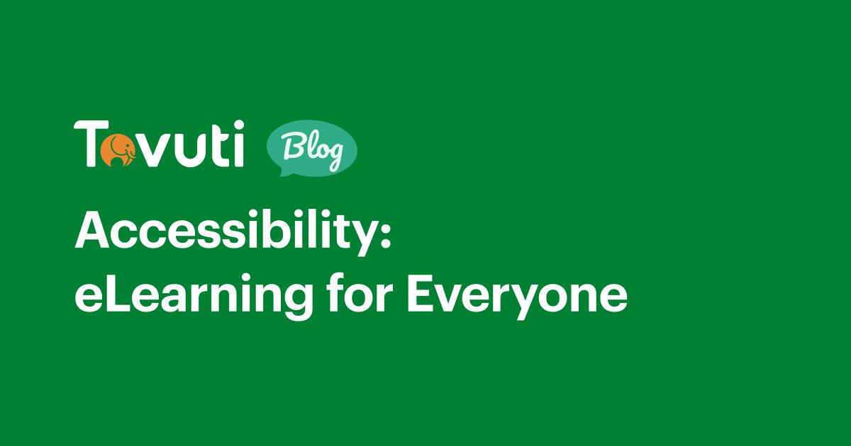 Tovuti LMS Accessibility