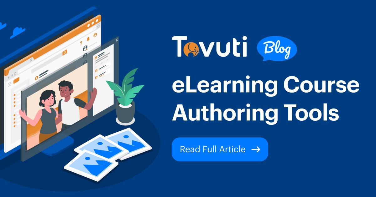 Tovuti LMS Course Authoring