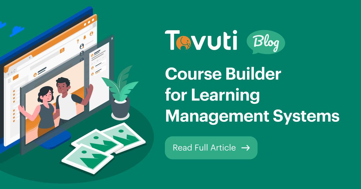 Tovuti LMS Course Builder
