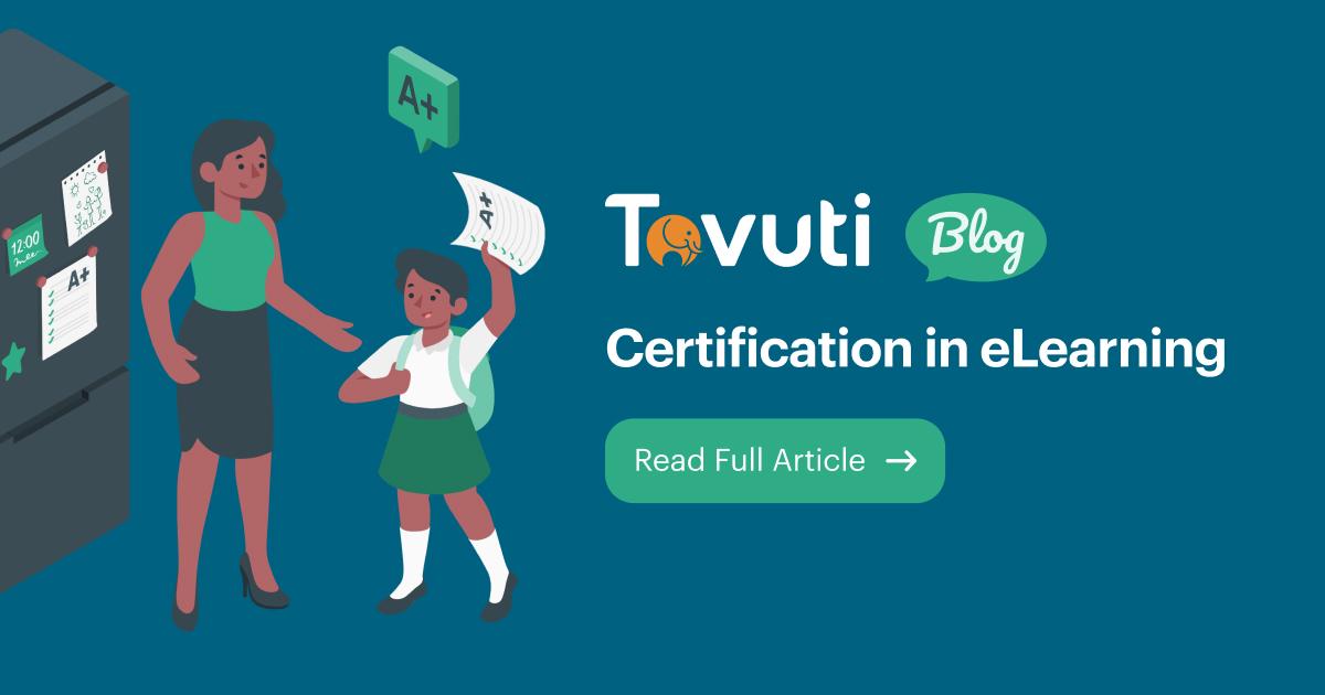 Certification in eLearning