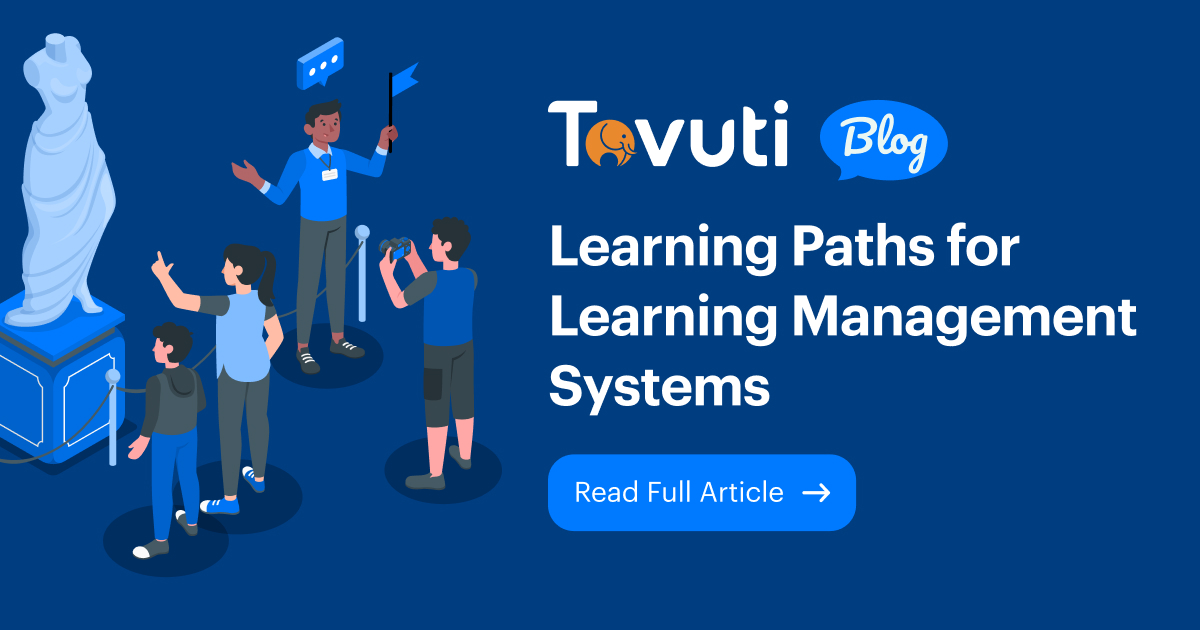 Learning Paths for Learning Management Systems