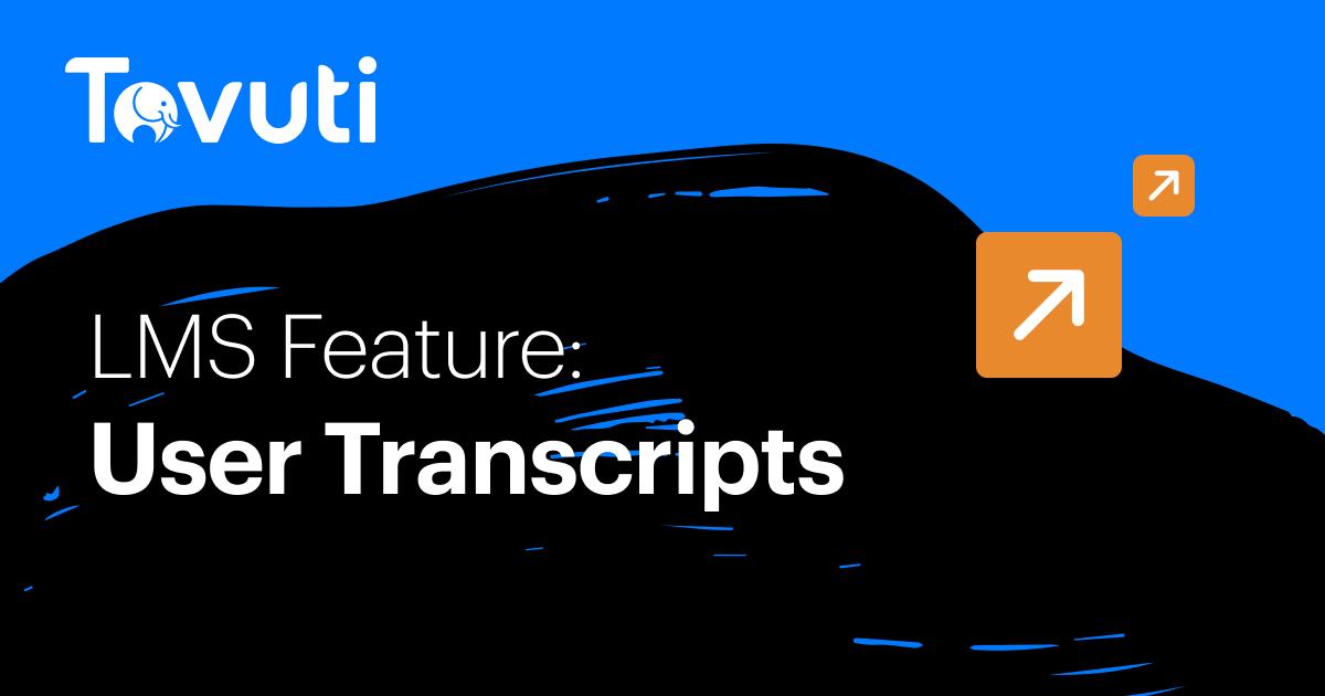 User Transcripts