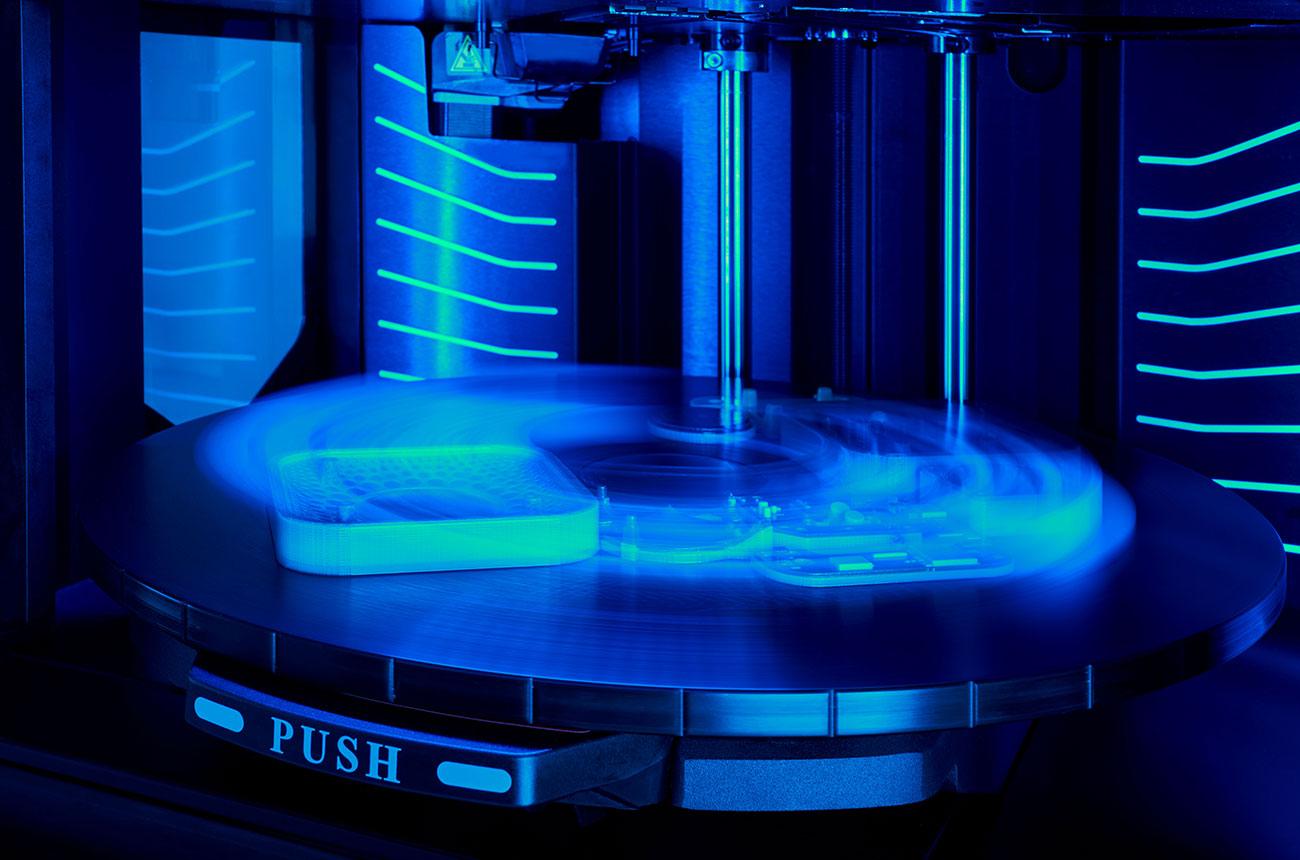 3D printer print tray