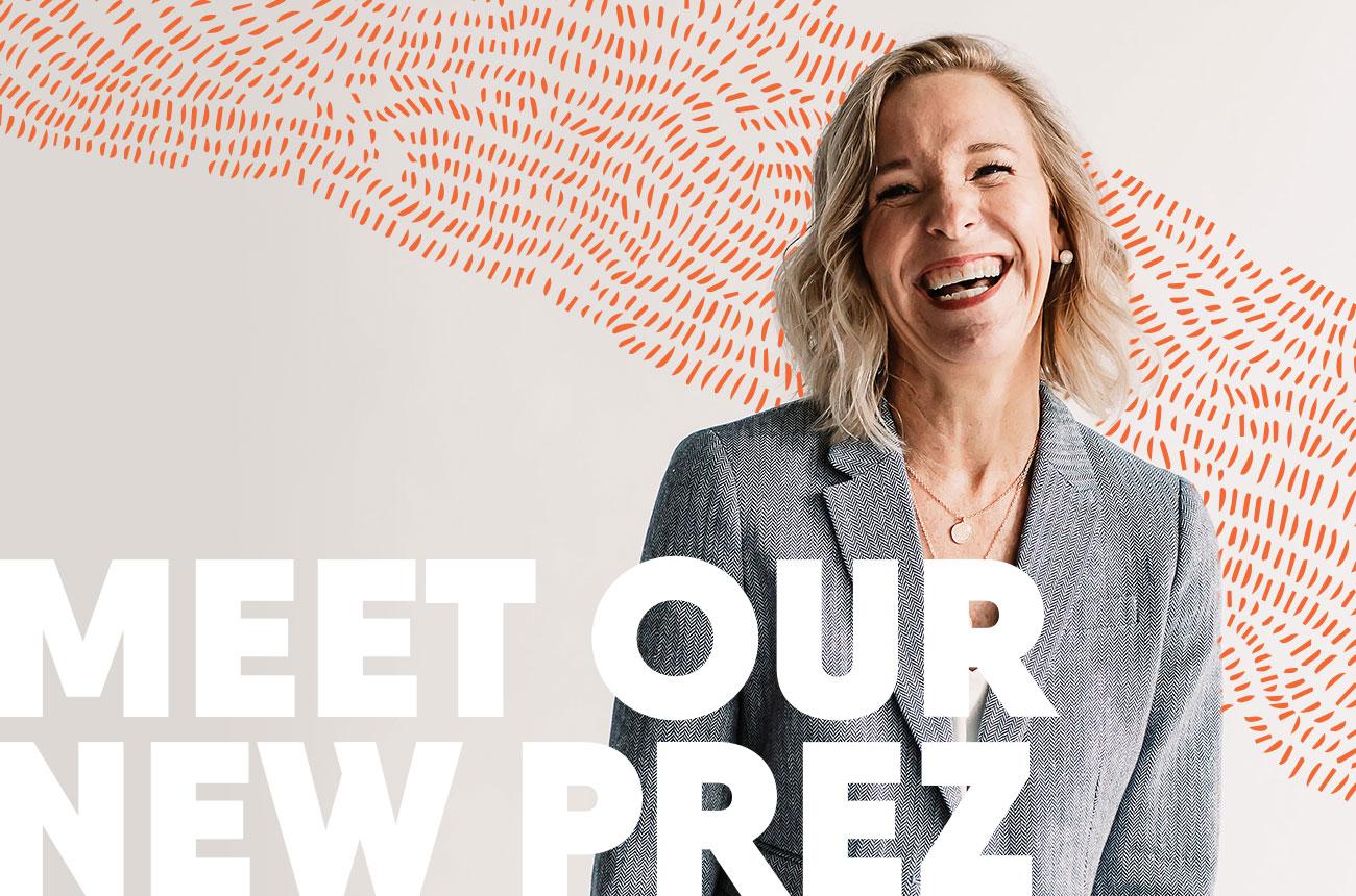 Meet our new Prez, Sarah Miller