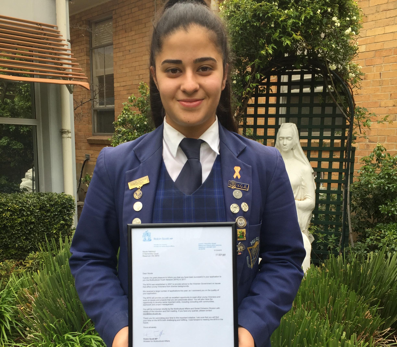Congratulations Nicole!