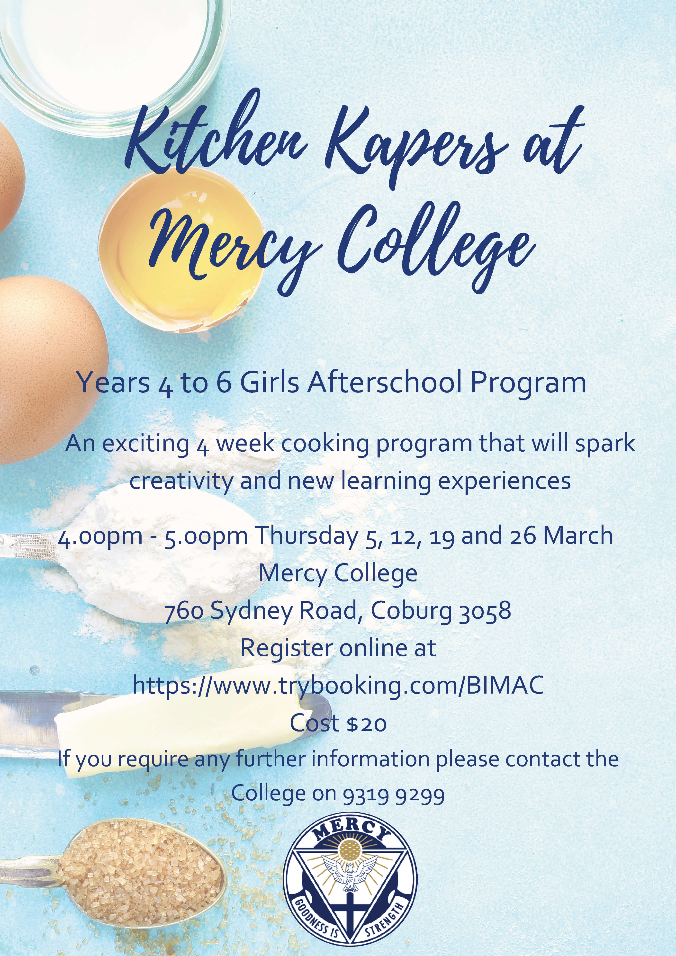 Kitchen Kapers Years 4 to 6 Program
