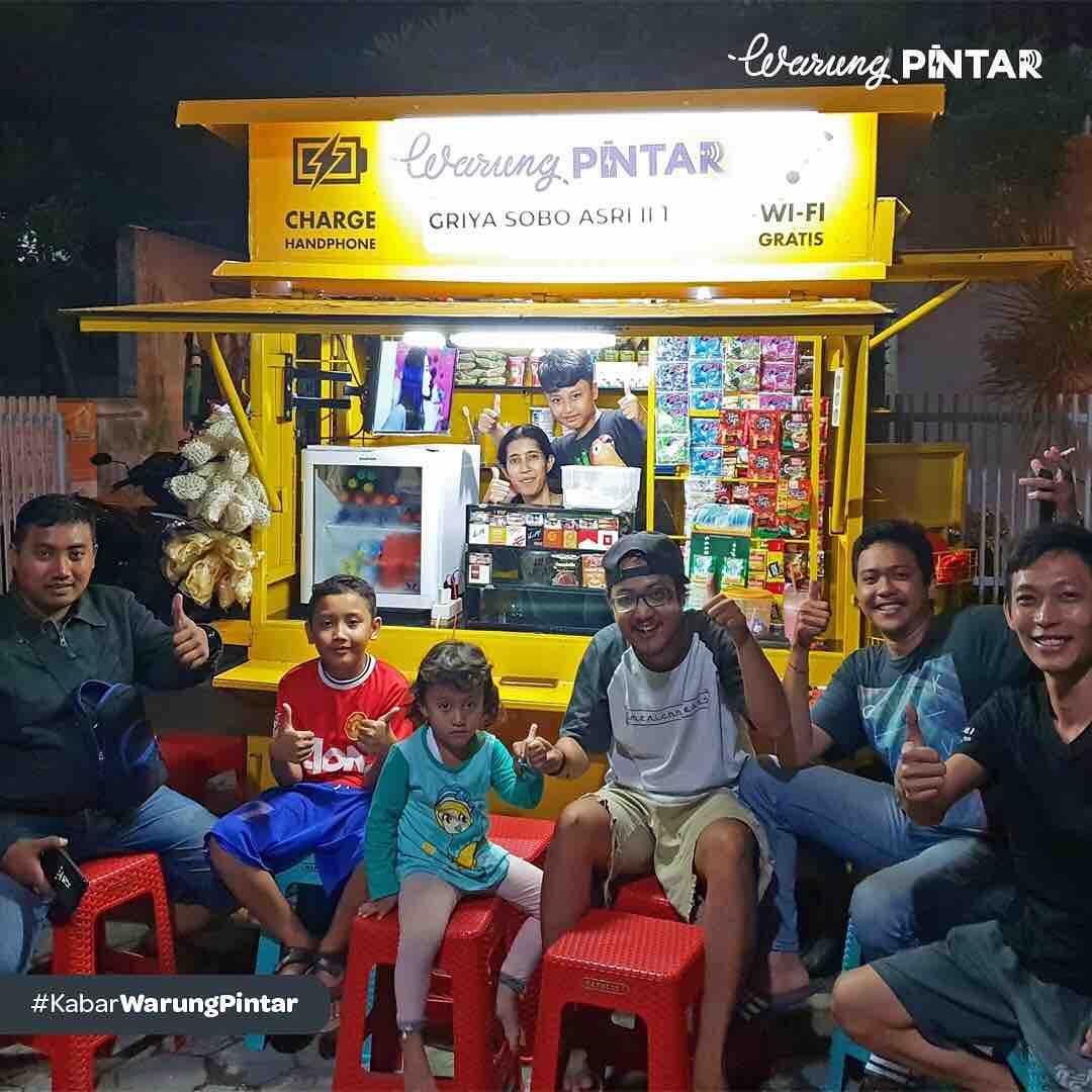 Warung Pintar: Menjadi Solusi atas Permasalahan Warung di Indonesia