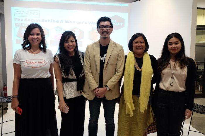Anthony Reza, CEO GetCRAFT Indonesia bersama para pembicara.