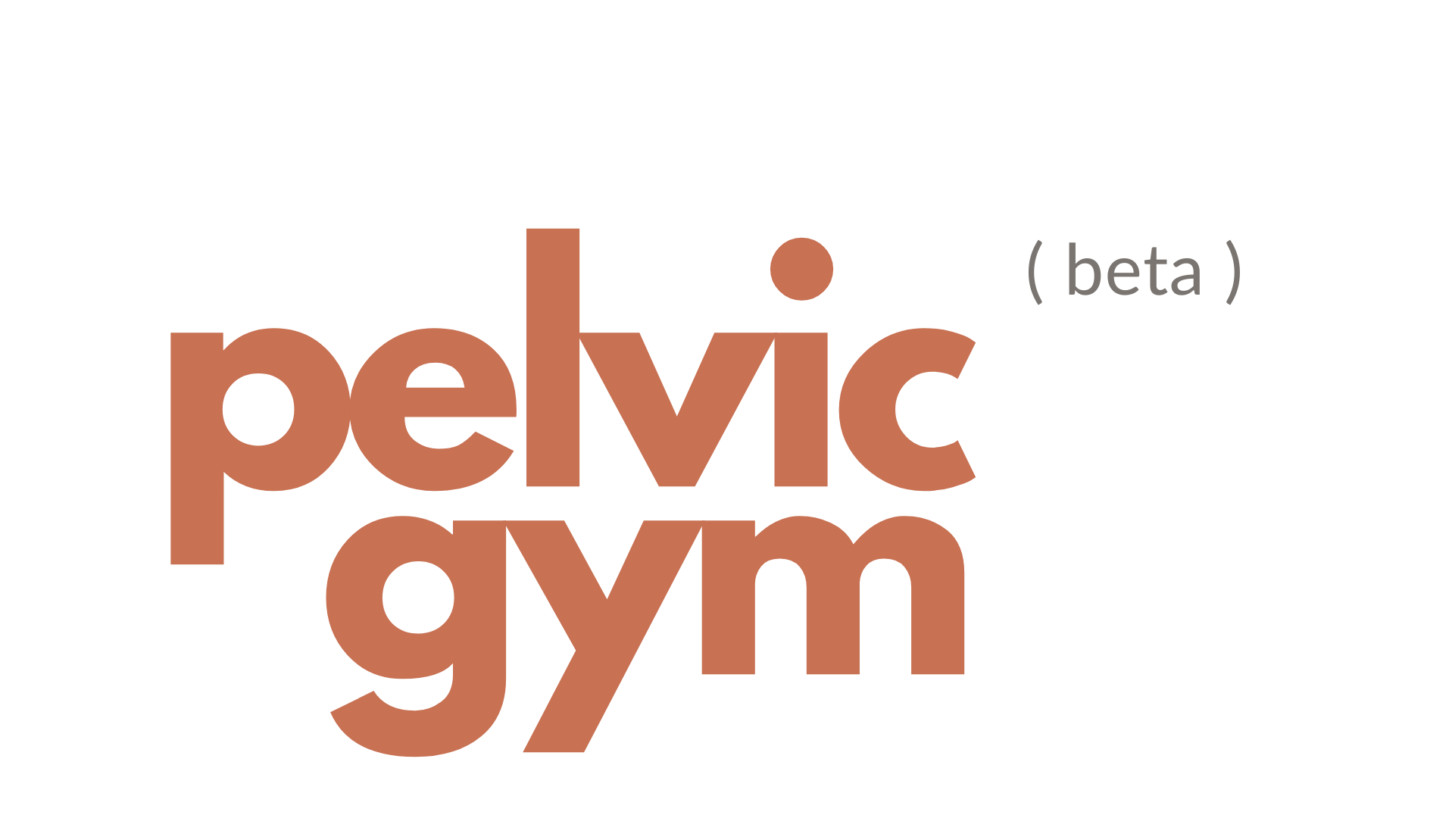Pelvic Gym (beta) Logo