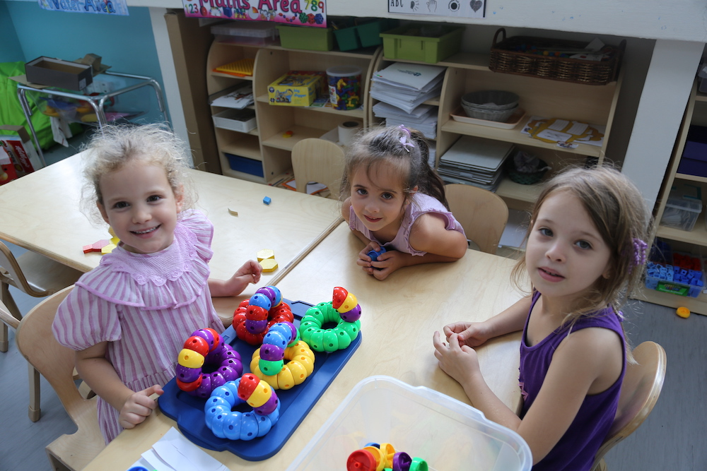 OWIS EC students learn through play