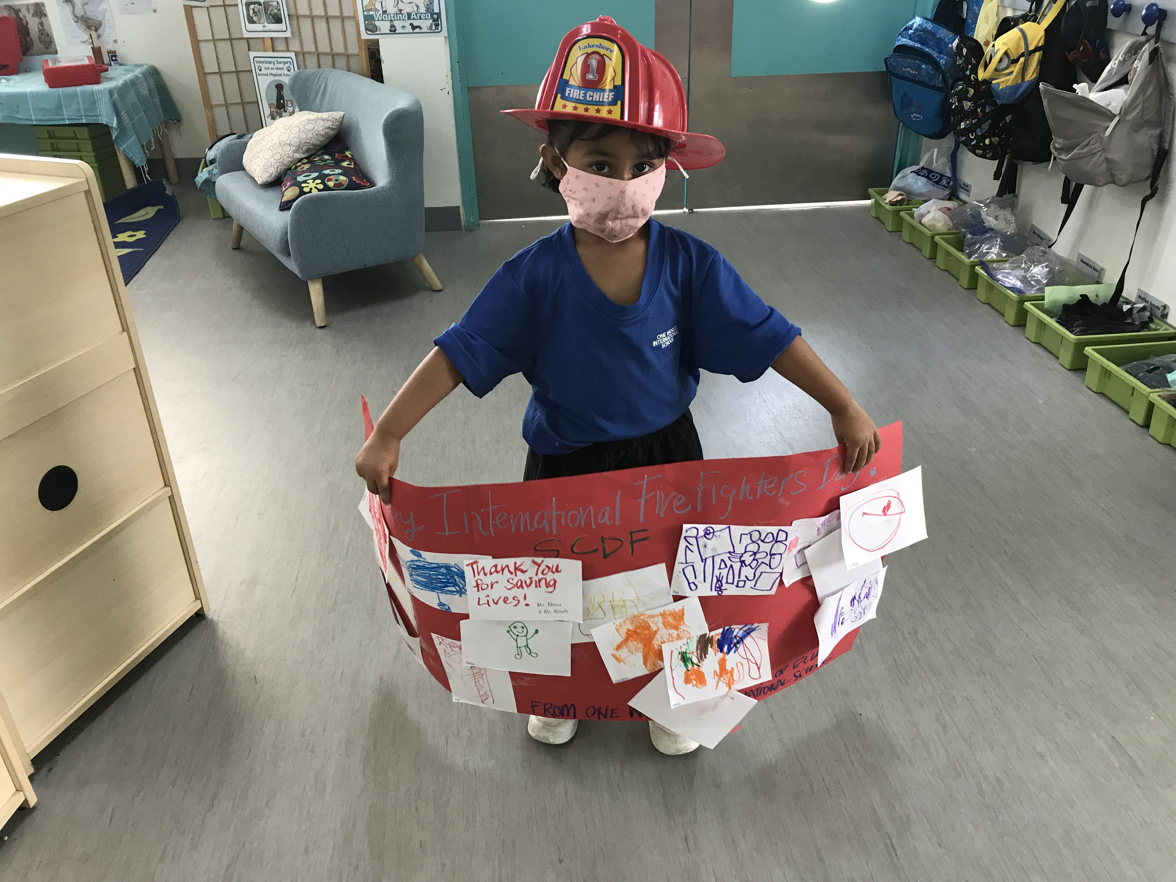 OWIS Early Childhood Students Celebrate International Firefighter Day - 8