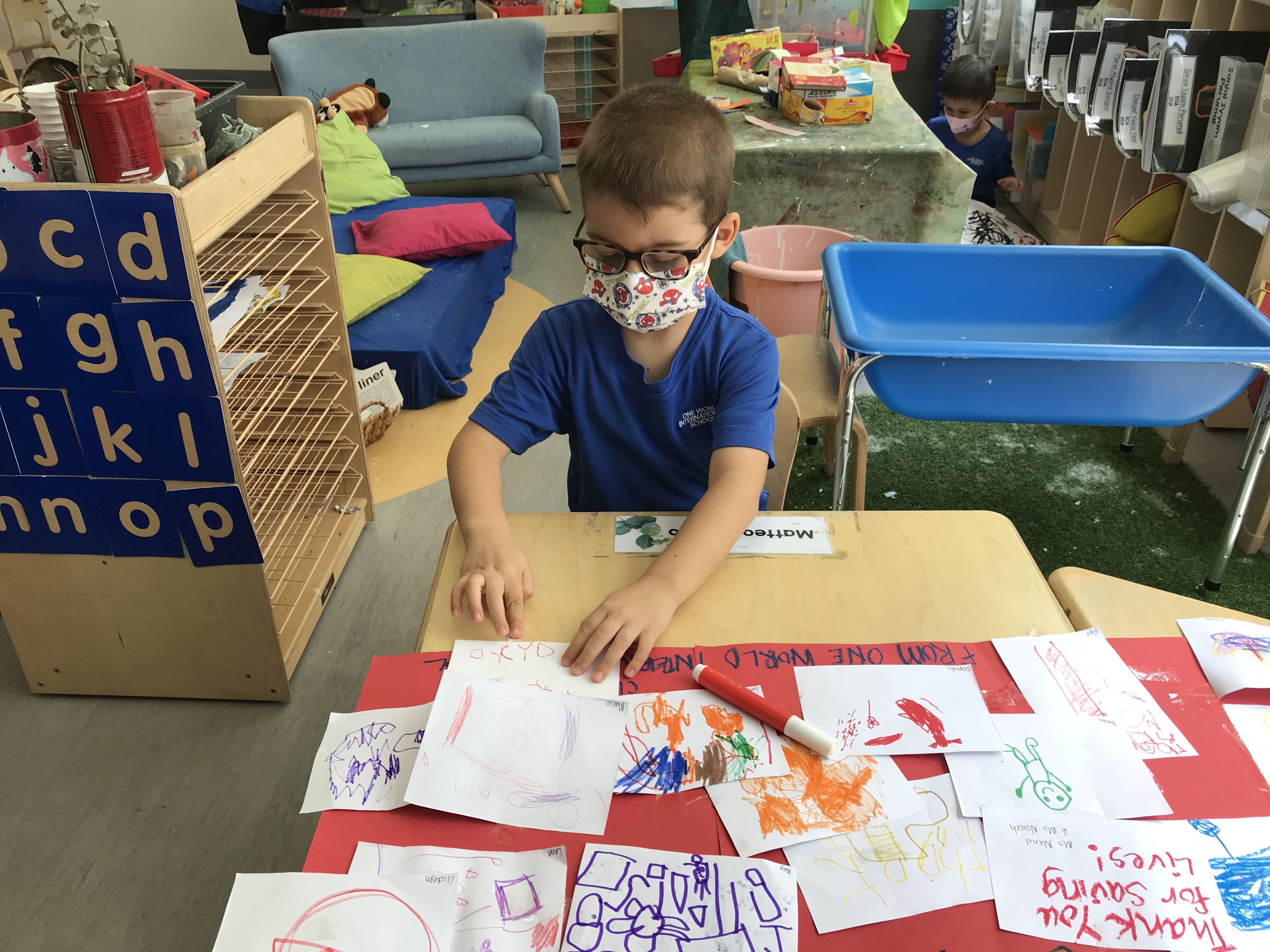 OWIS Early Childhood Students Celebrate International Firefighter Day - 9