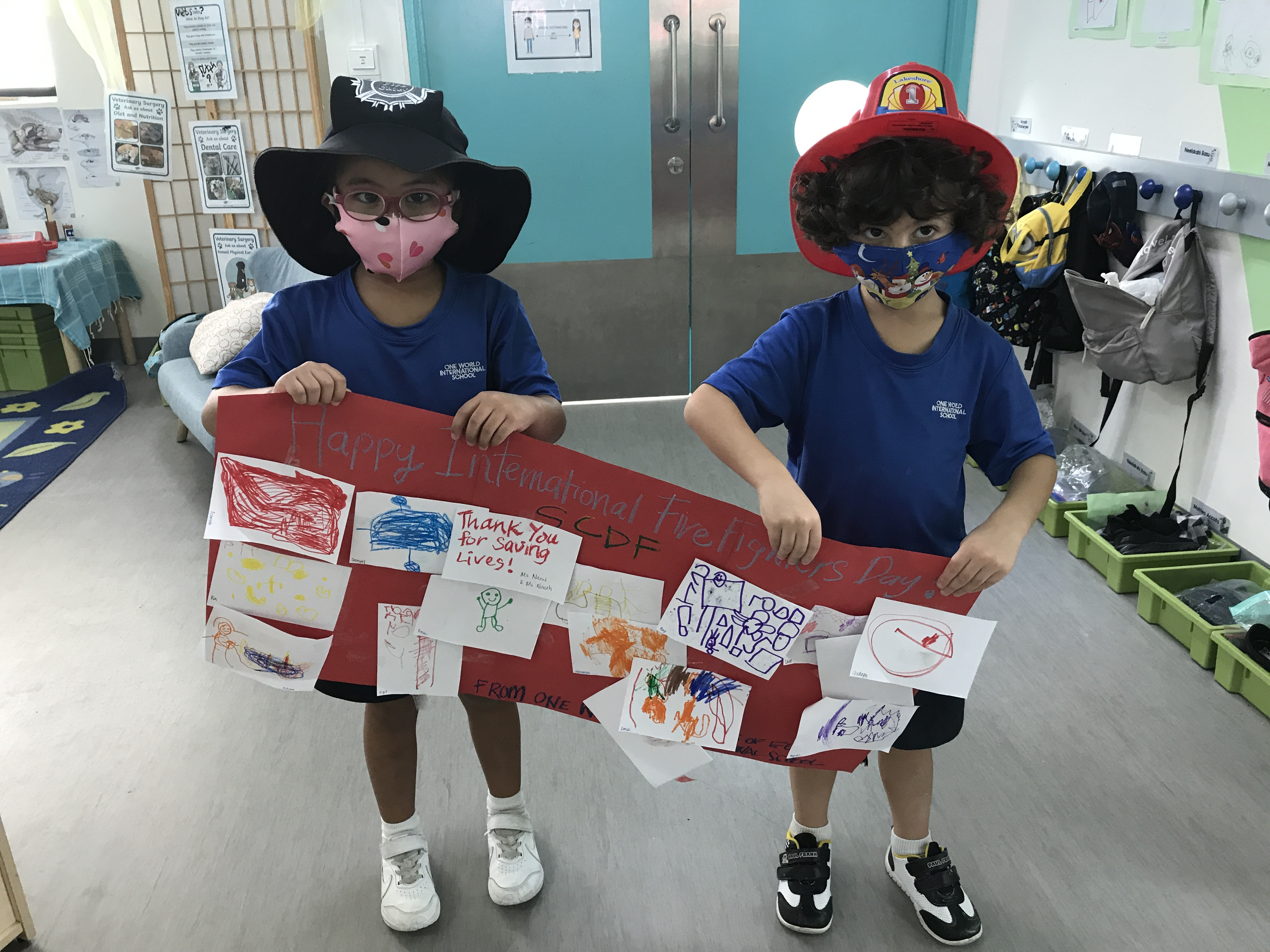 OWIS Early Childhood Students Celebrate International Firefighter Day - 6