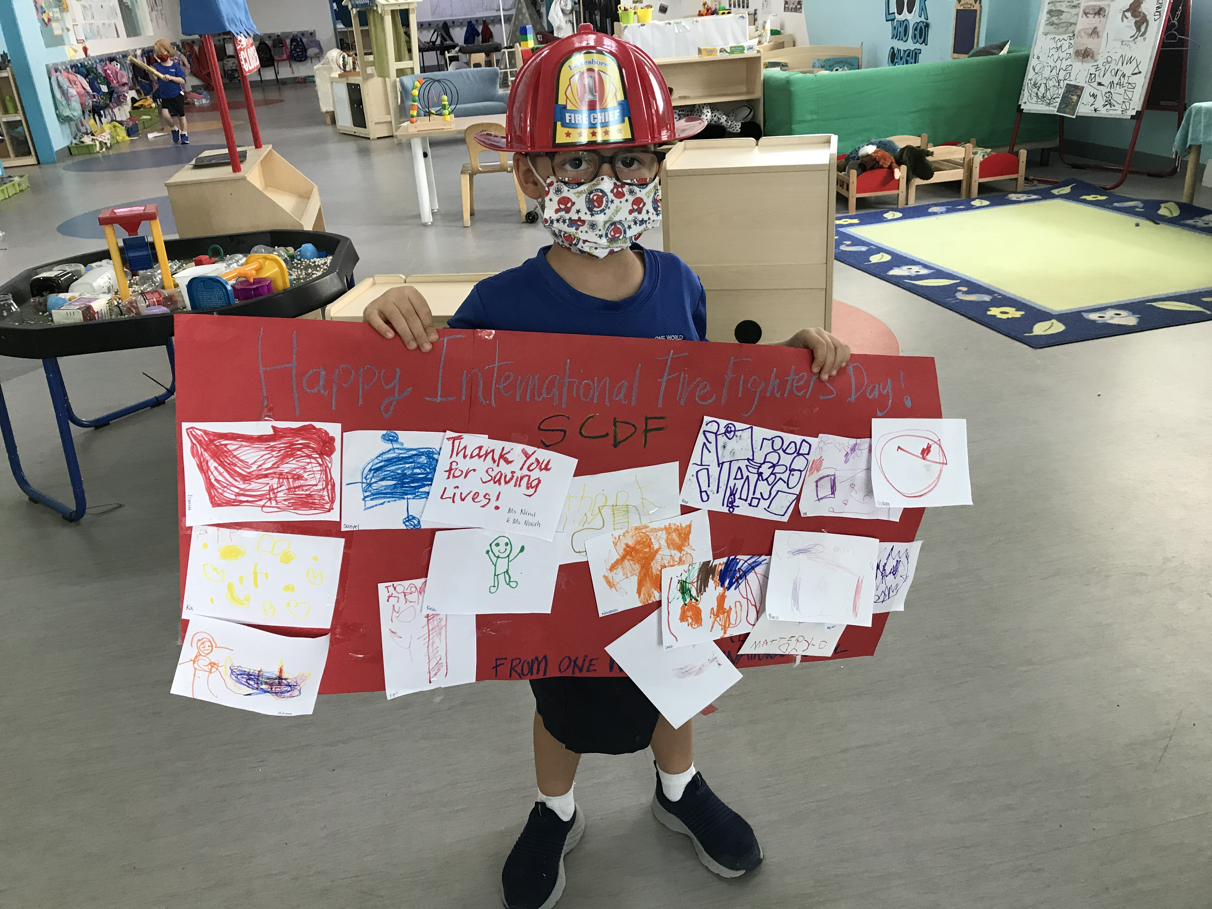 OWIS Early Childhood Students Celebrate International Firefighter Day - 10