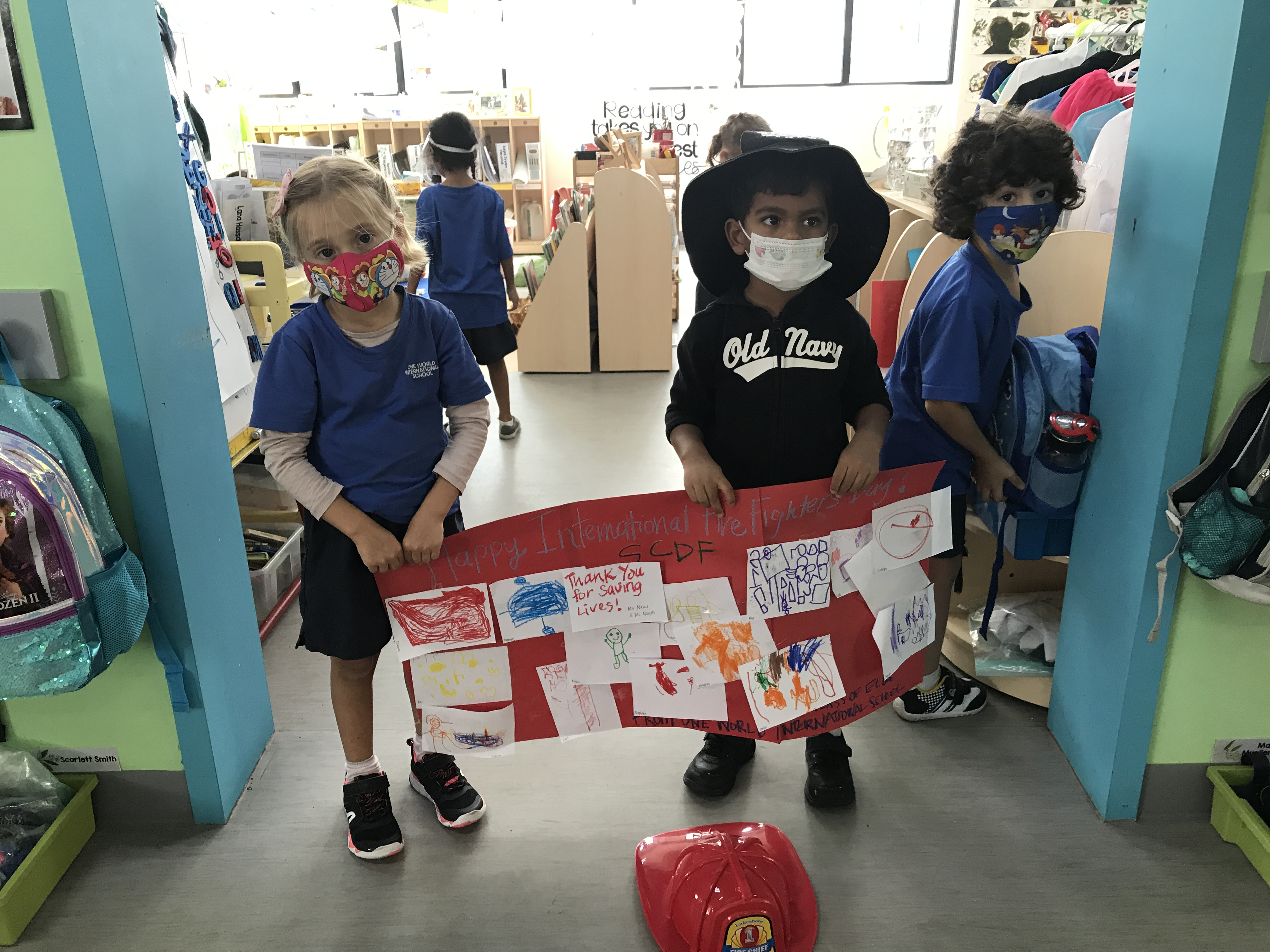 OWIS Early Childhood Students Celebrate International Firefighter Day - 2
