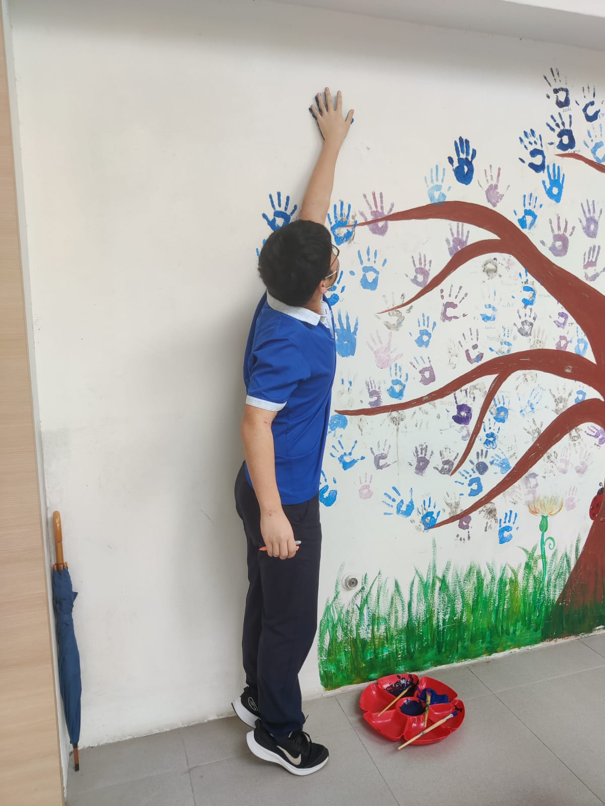 OWIS IBDP students participated in the Think Kindness Challenge