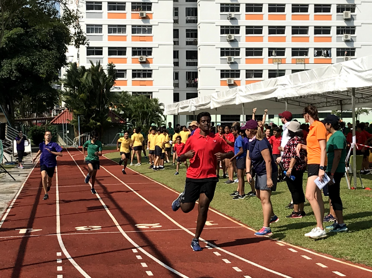 Students participate in OWIS Sports Day 2019