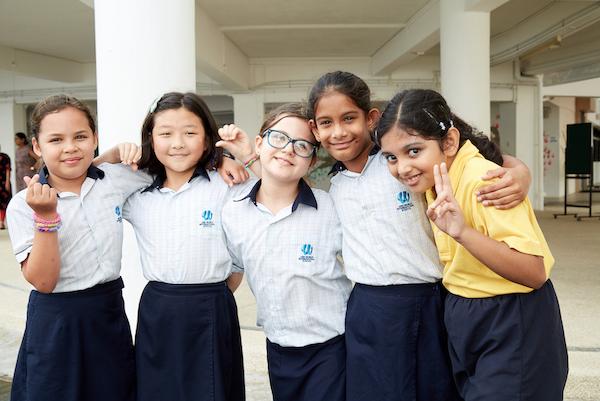 OWIS students feel a sense of belonging in the school