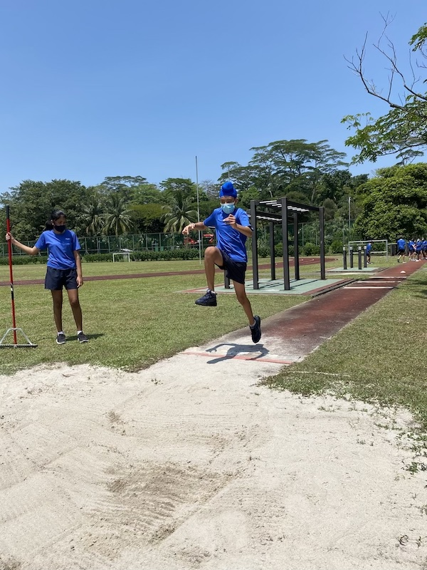 OWIS Sports Olympics Day 2021 - long jump