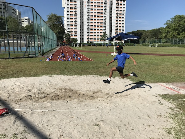 OWIS Sports Olympics Day 2021 - long jump primary