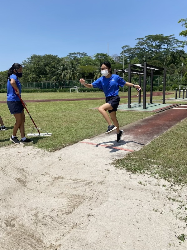 OWIS Sports Olympics Day 2021 - long jump girls