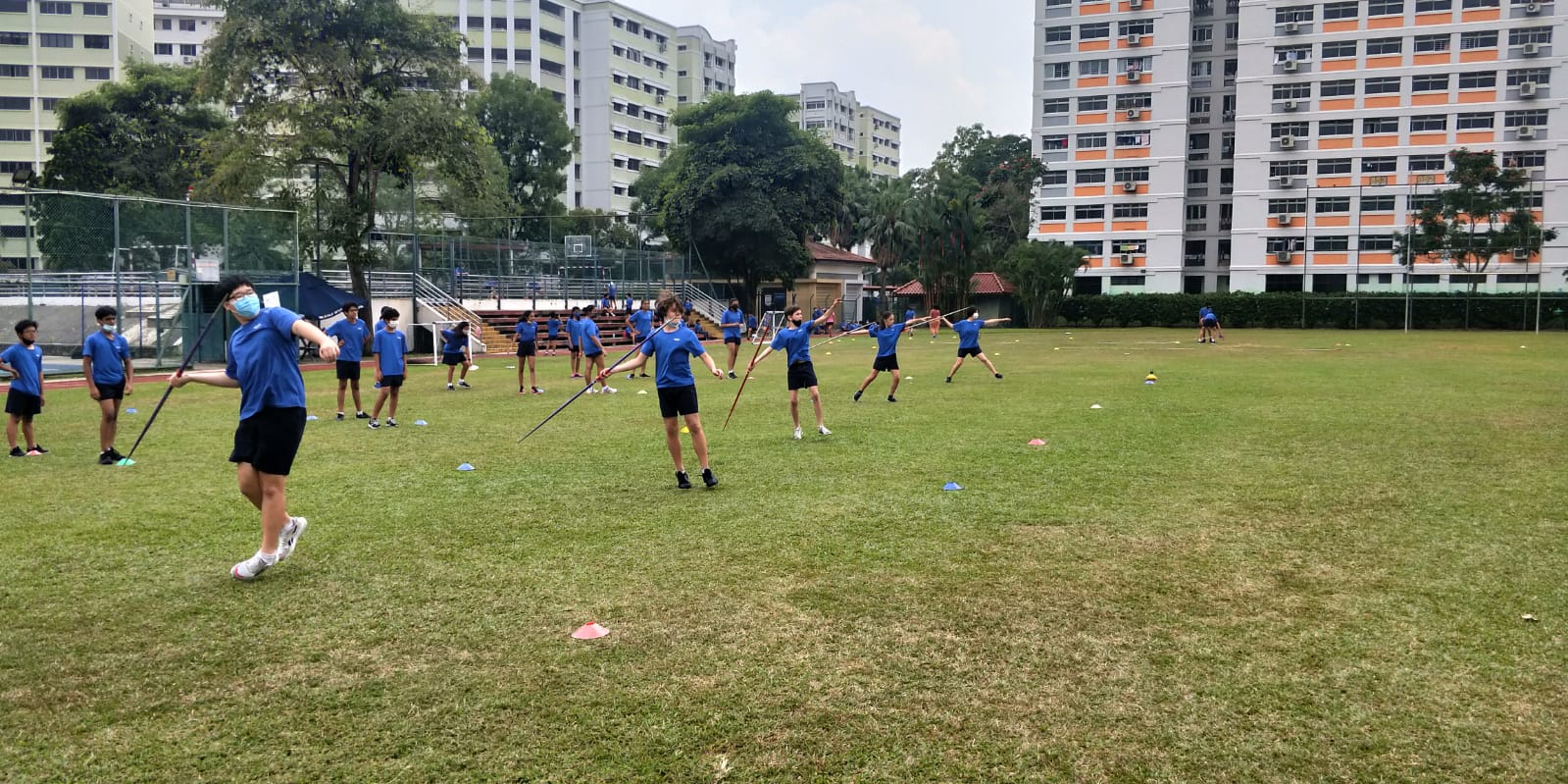 OWIS Sports Olympics Day 2021 - javelin throw