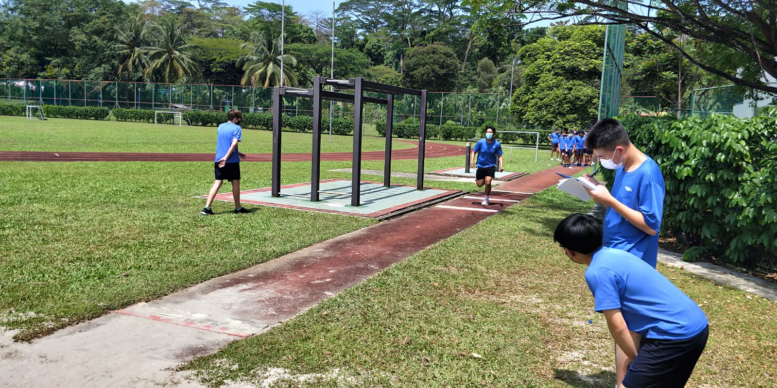 OWIS Sports Olympics Day 2021 - long jump secondary