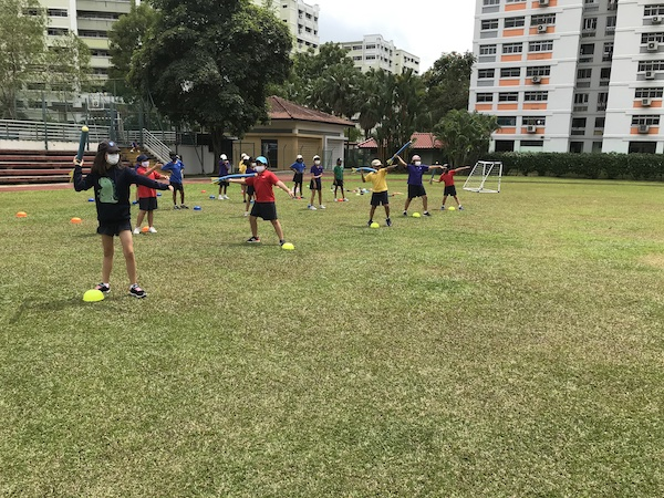 OWIS Sports Olympics Day - javelin throw primary