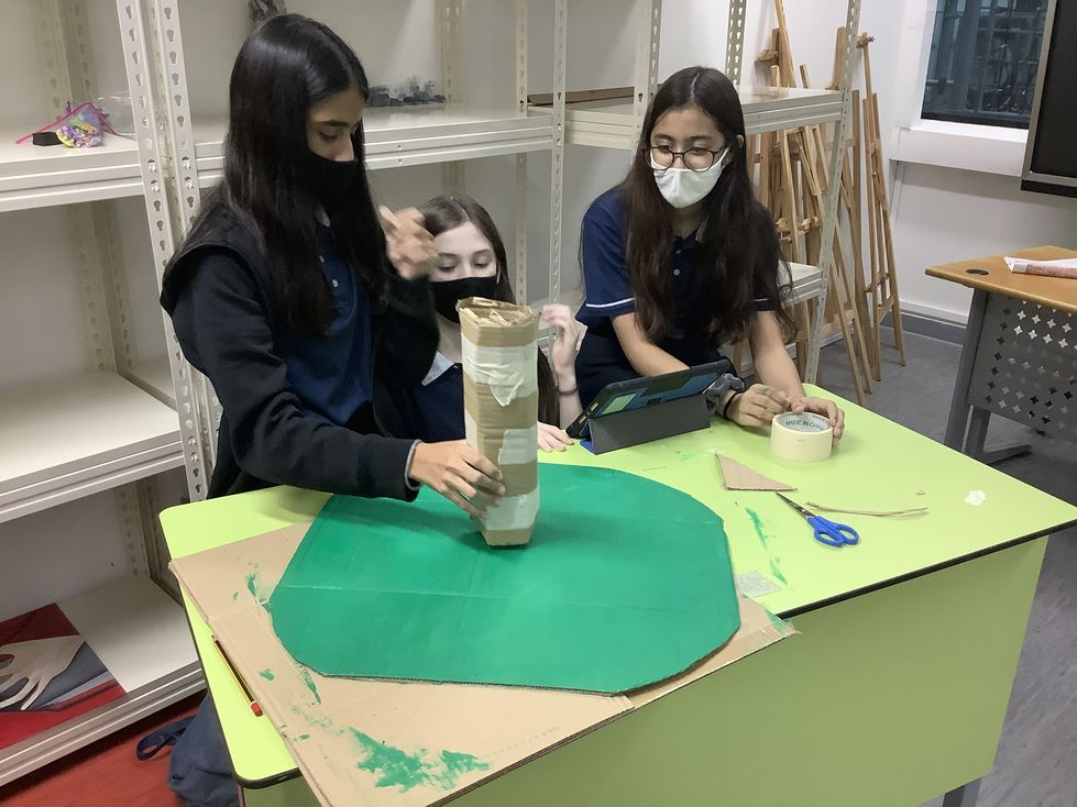 OWIS Eco-Art Project Grade 8 secondary