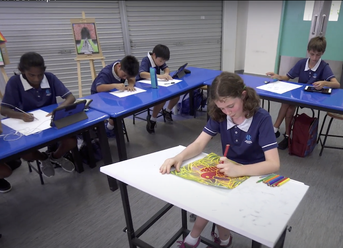 At OWIS, IBDPart students develop an even deeper understanding of the world as artists