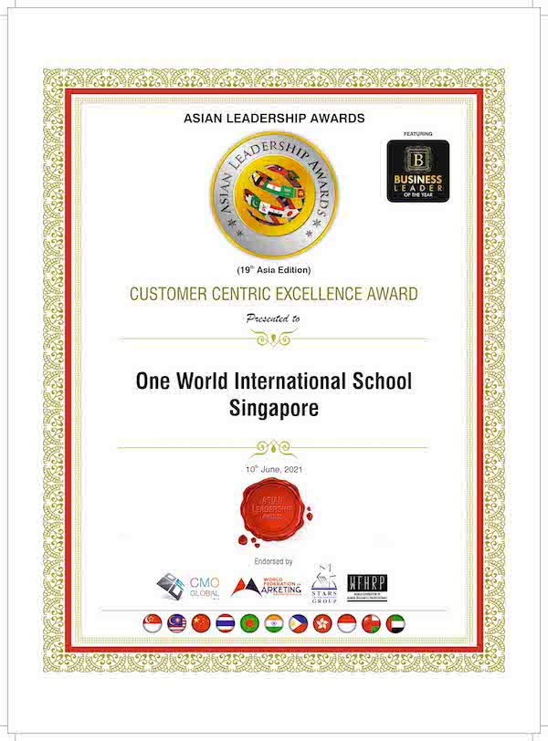 OWIS wins recognition at Asian Leadership Awards