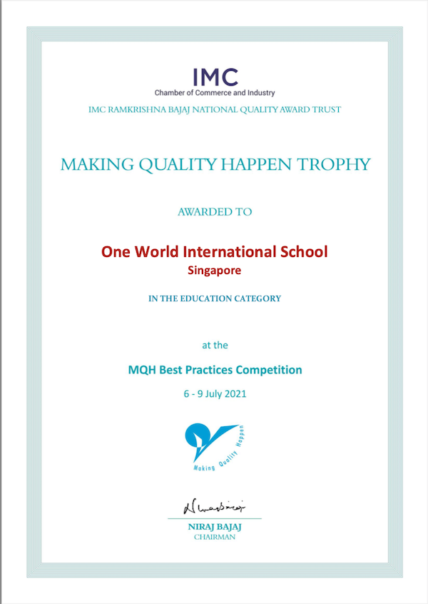 OWIS wins trophy at MQH Best Practices Competition