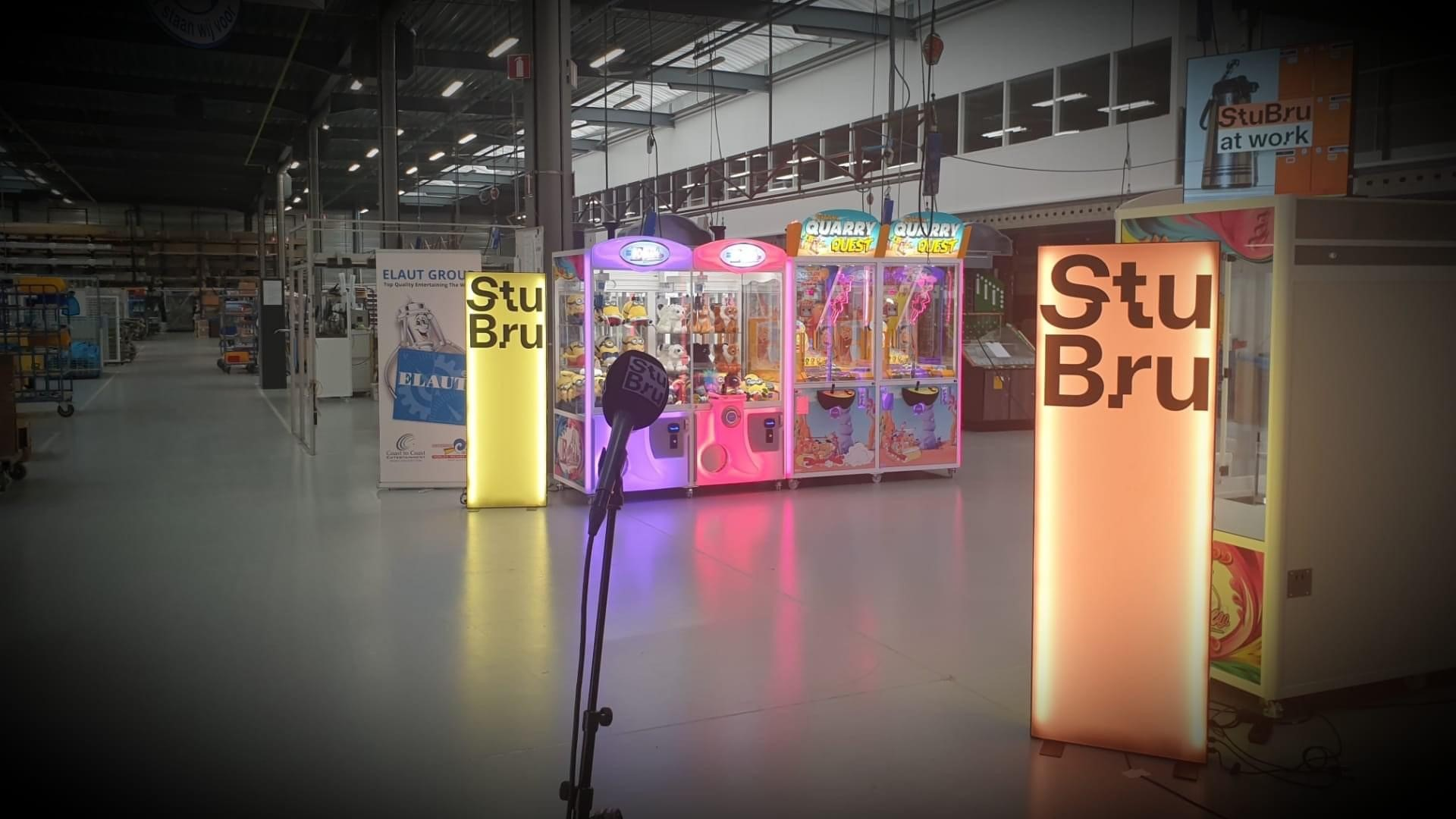 Studio Brussel / StuBru at work visits Elaut